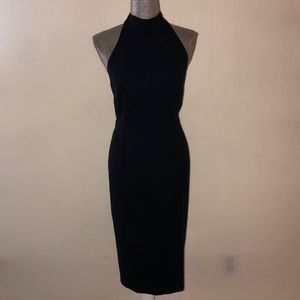 Kathryn Conover navy evening dress, size 12